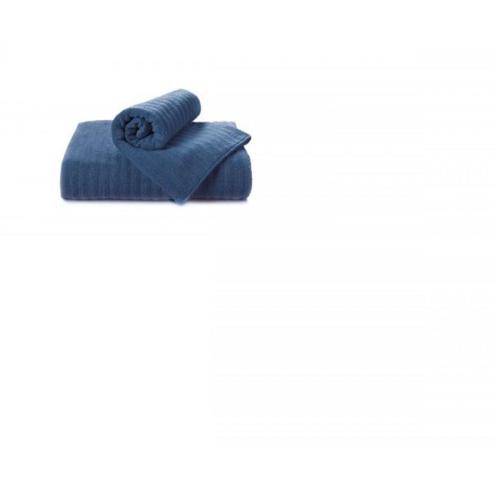Полотенце Aquarelle Волна темно-синий