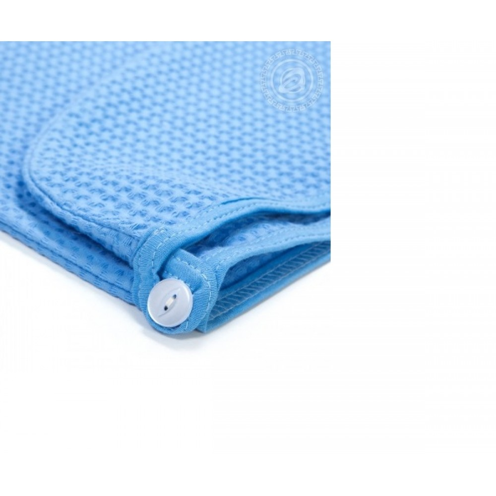 Набор для бани и сауны женский голубой