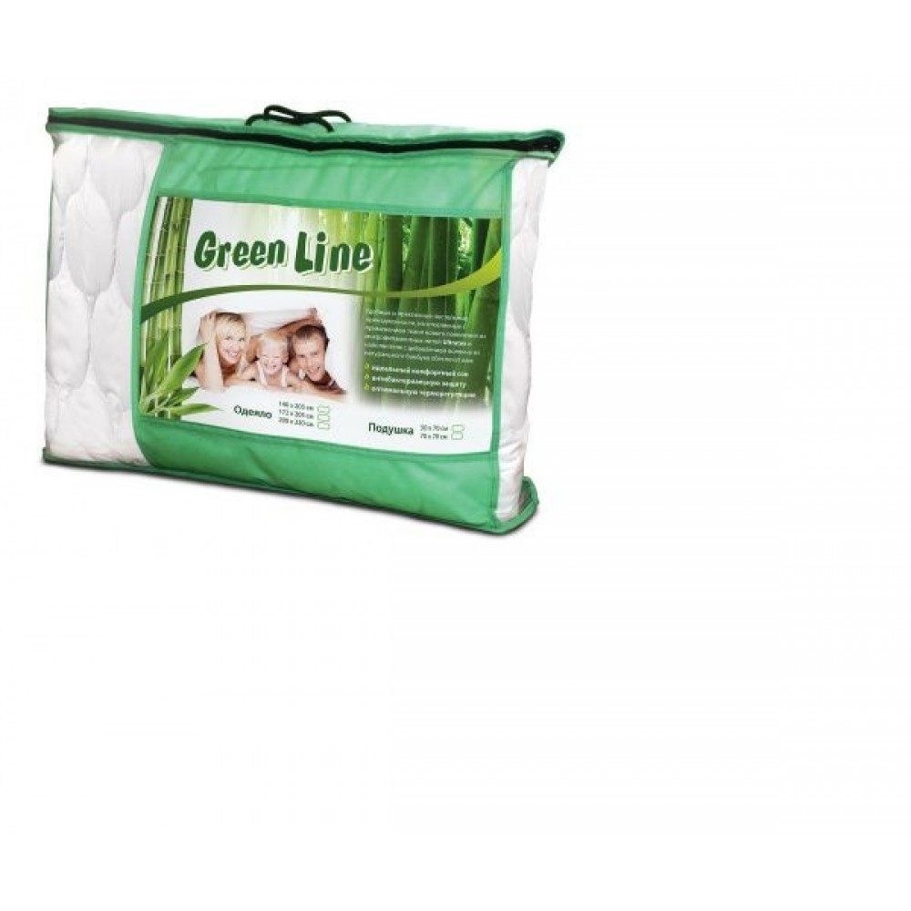 Одеяло Green Line  бамбук/полиэстер
