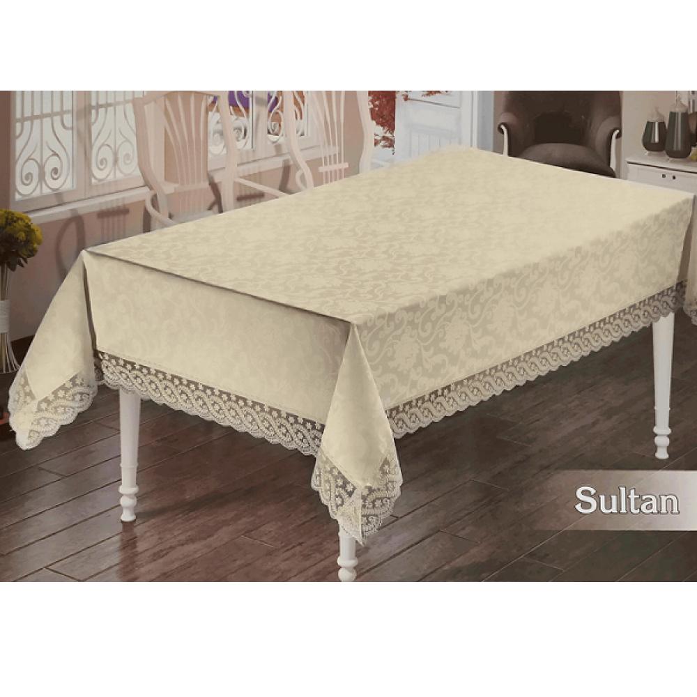 Скатерть SULTAN Cream (кремовый)