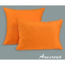 Трикотажная наволочка на молнии «Апельсин»